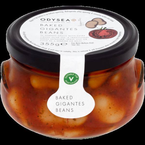 Baked Gigantes Beans Antipasti & Mezes