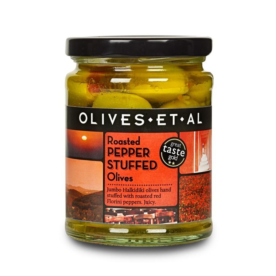 Pepper Stuffed Olives Olives