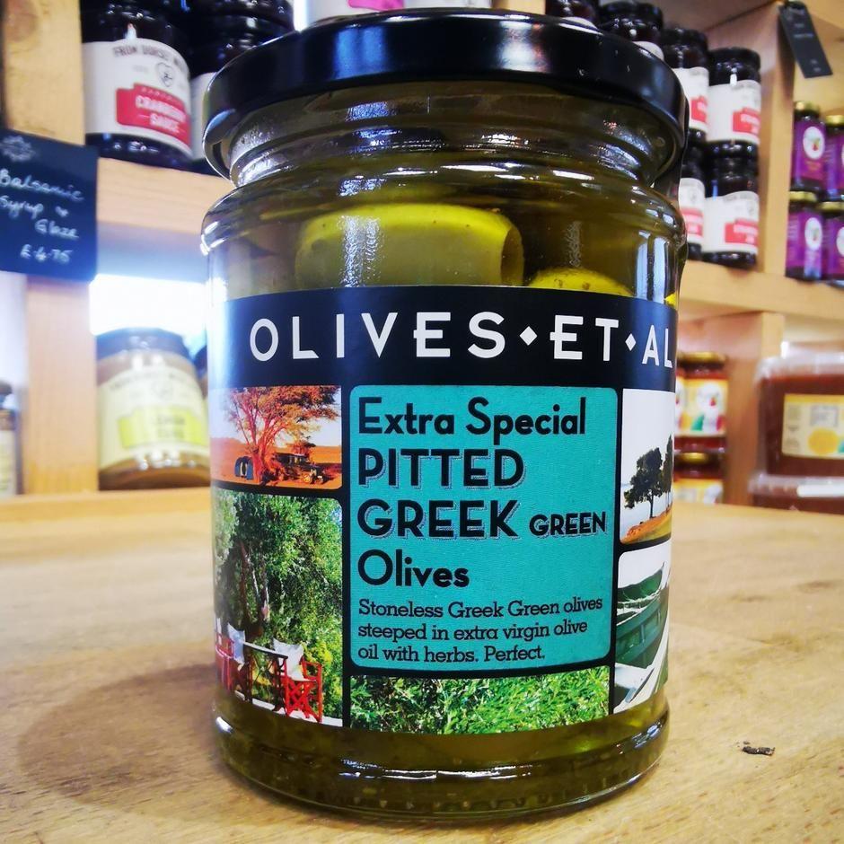 Olives et al Pitted Green Olives