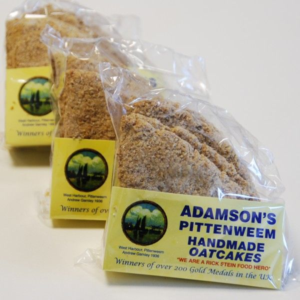 Adamson's Oatcakes Savoury Biscuits/Oat