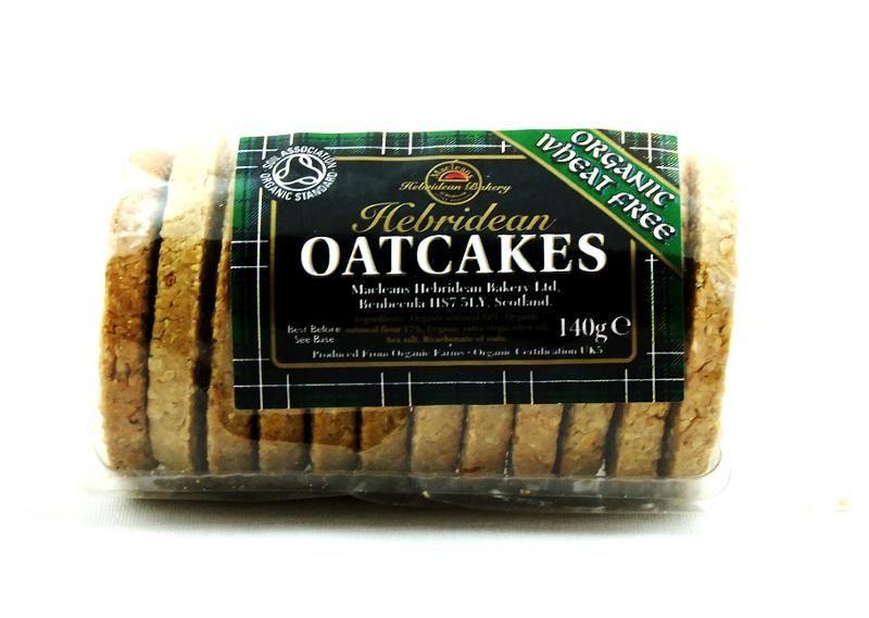 Organic Wheat Free Oatcakes
