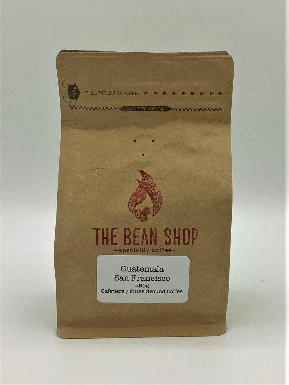 Bean Shop Guatemala Coffee