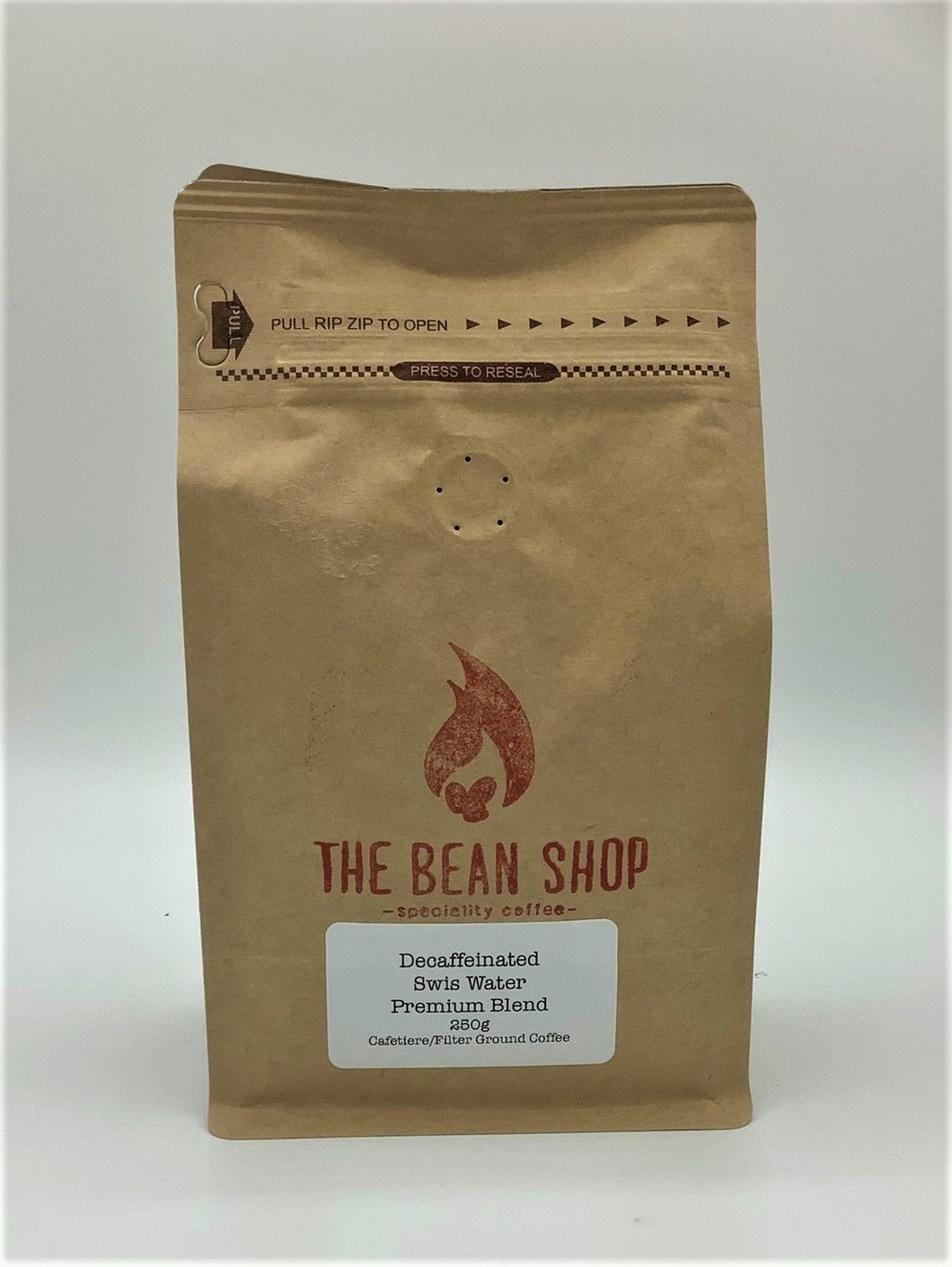 Bean Shop Decaffeinated Coffee