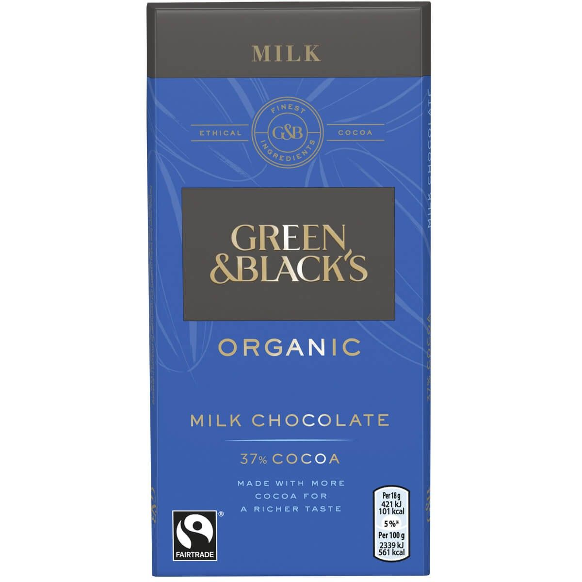 G & B Milk Chocolate Chocolate Bars