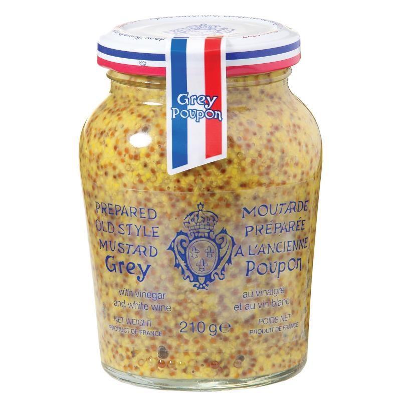 Grey Poupon Wholegrain Mustard Mustards