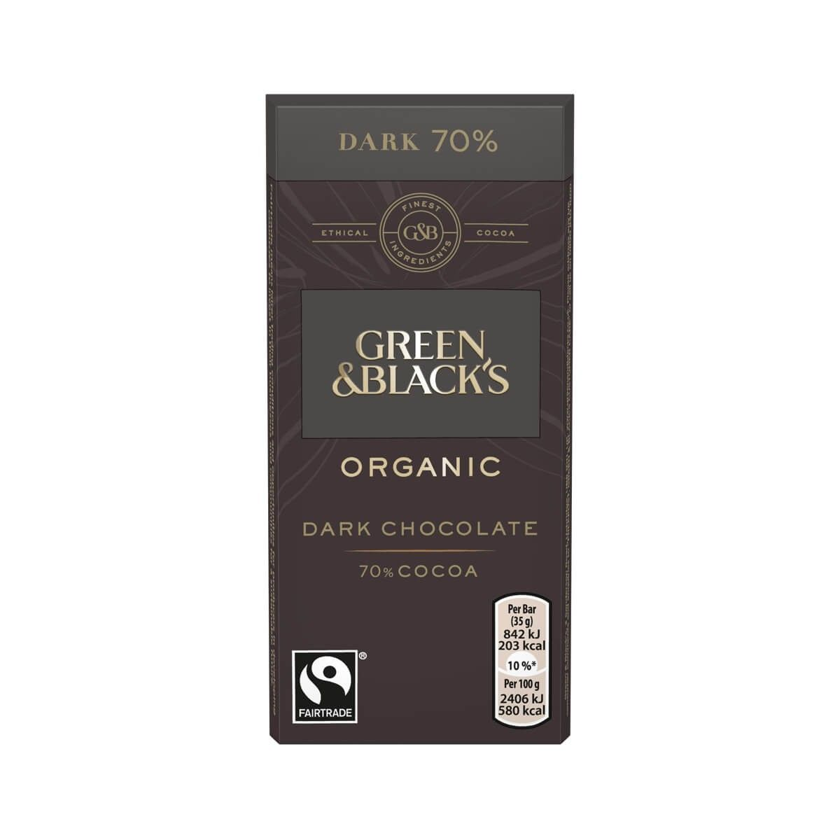 Green & Blacks Dark Chocolate