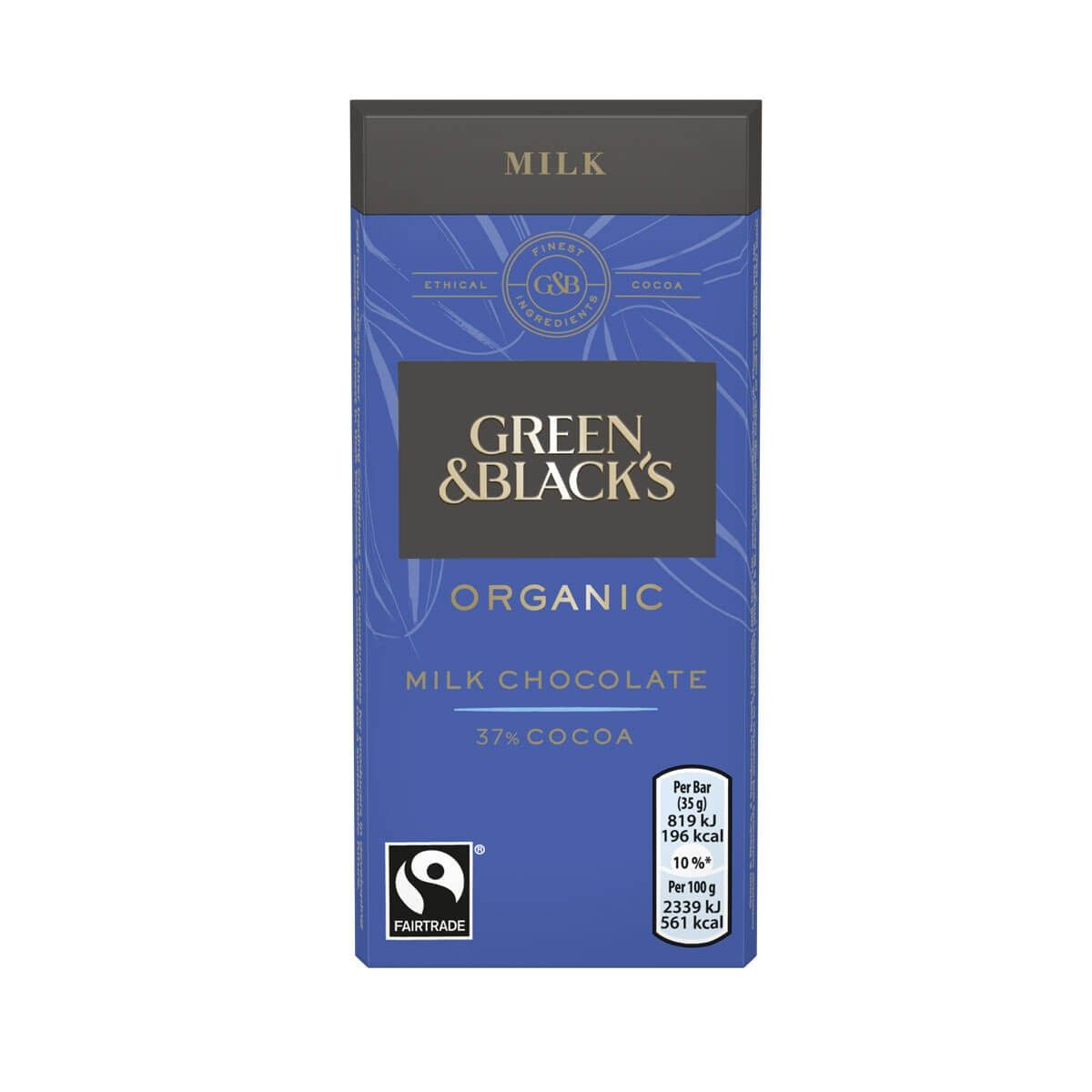Green & Blacks Milk