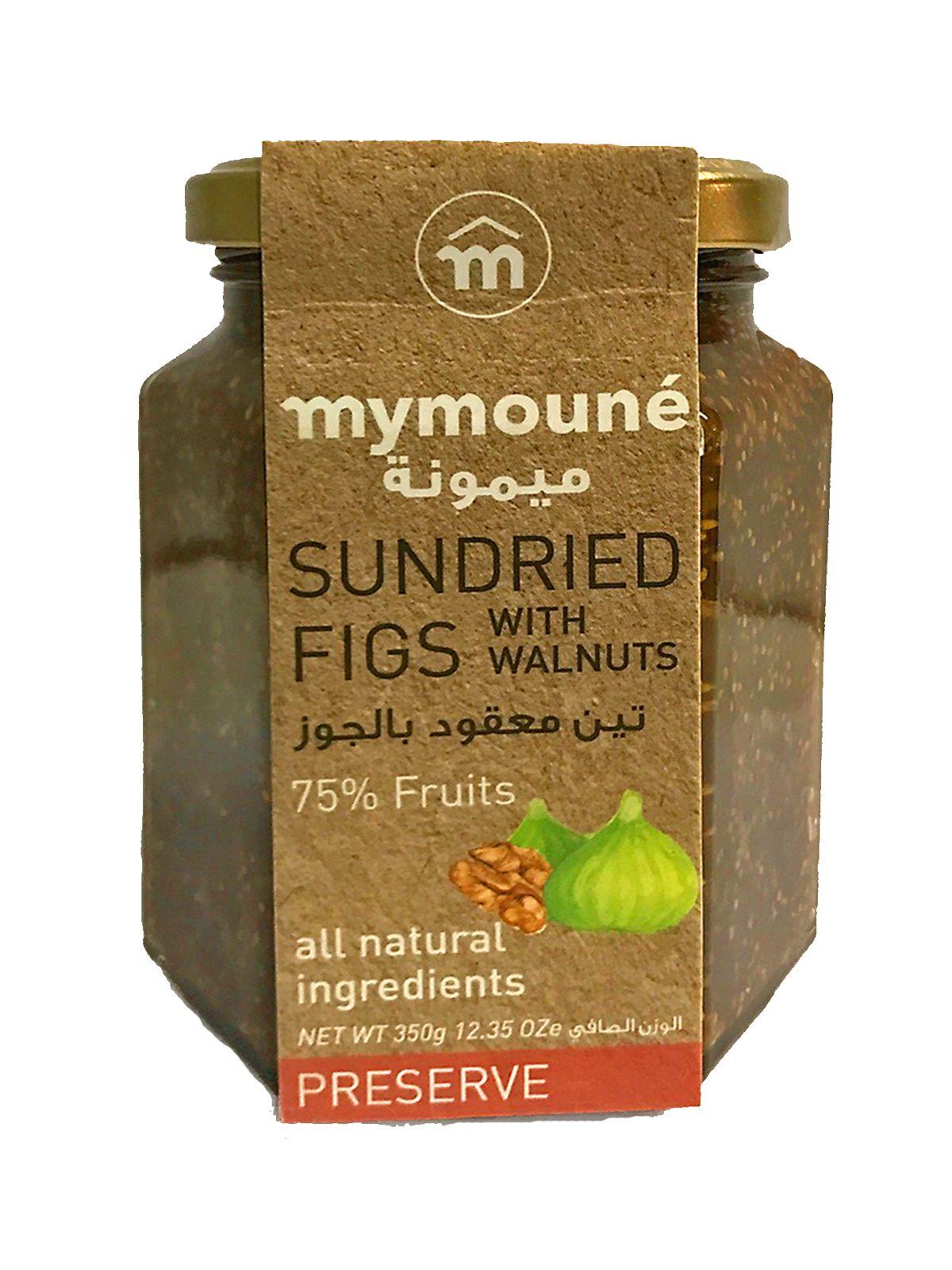 Mymoune Fig & Walnut Jam