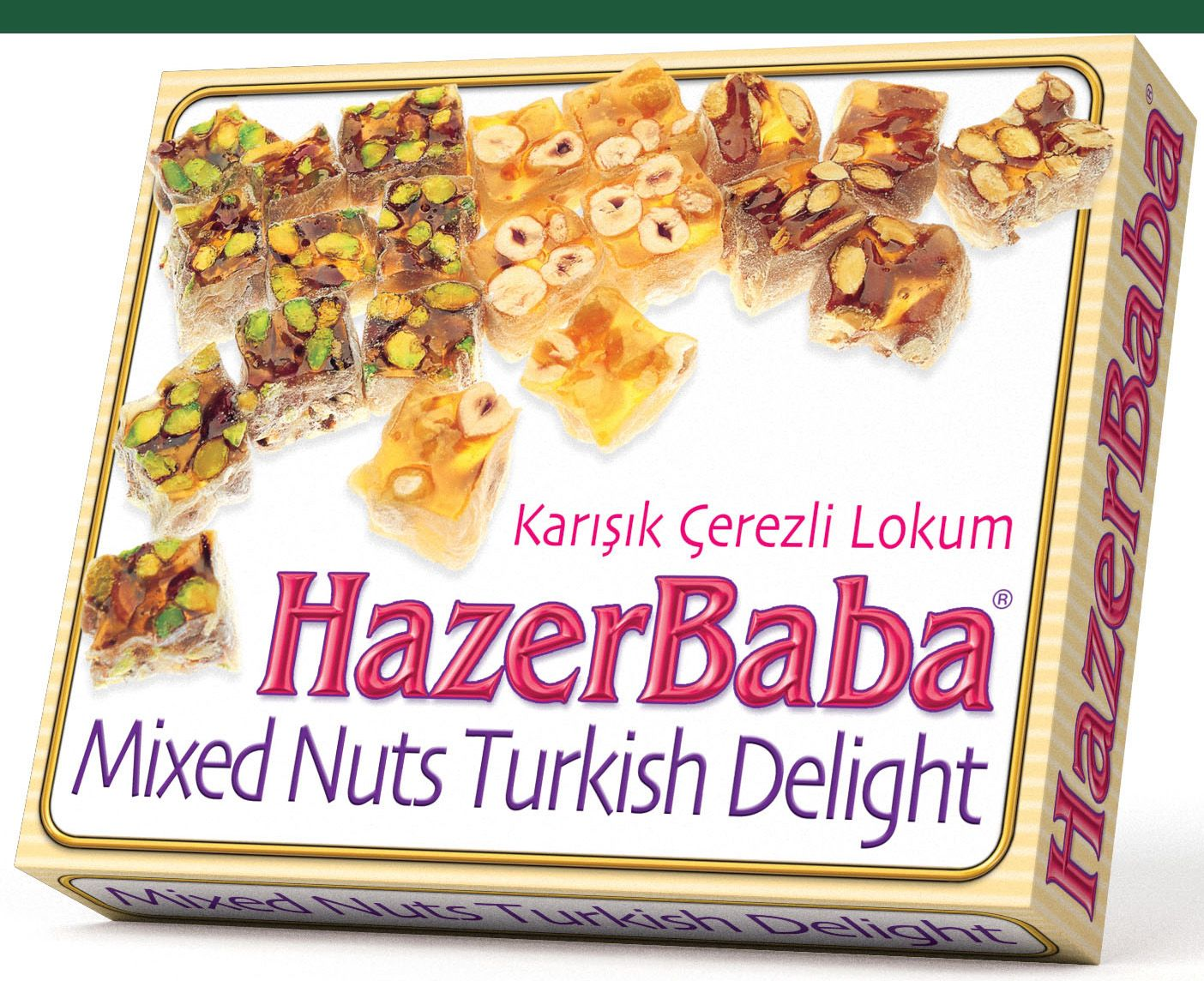 Hazer Baba Mixed Nut Turkish Delight