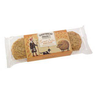 Shortbread House Oaties Sweet Biscuits