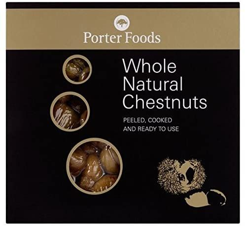 Porters Whole Natural Chestnuts