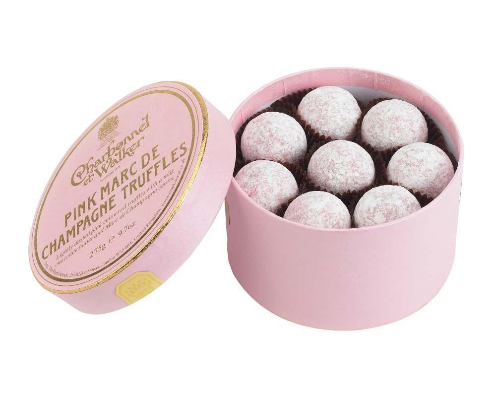 C&W Pink Champagne Truffles