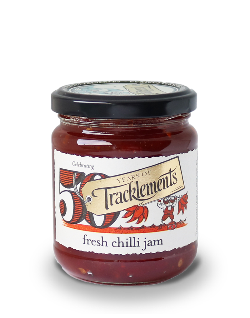 Tracklements Chilli Jam Savoury Jellies & Ja