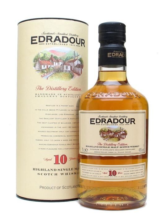 Edradour10YO Single Malt