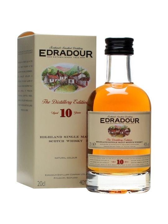 Edradour 10 YO Single Malt Whisky