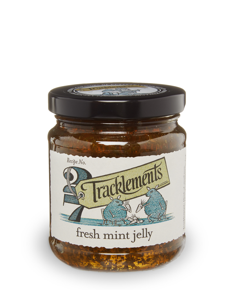Tracklements Fresh Mint Jelly Savoury Jellies & Ja