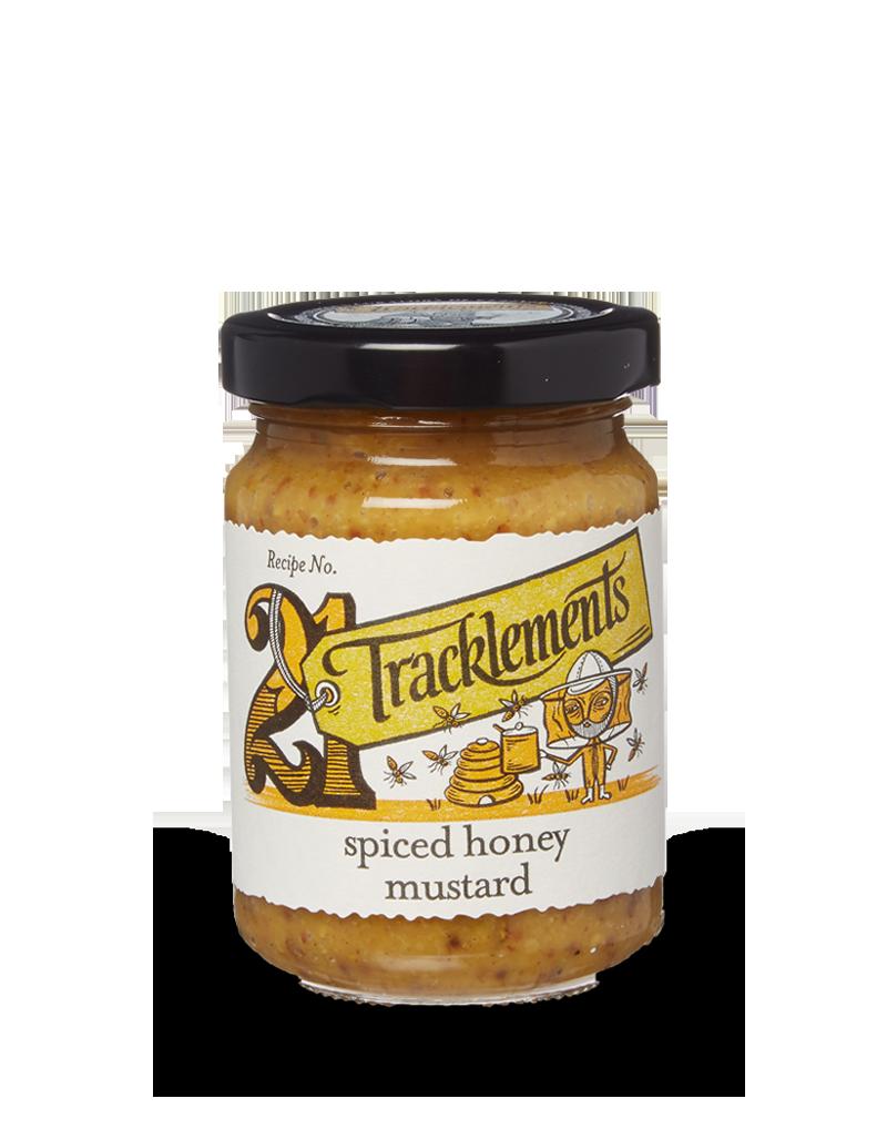 Tracklements Spiced Honey Mustard Mustards