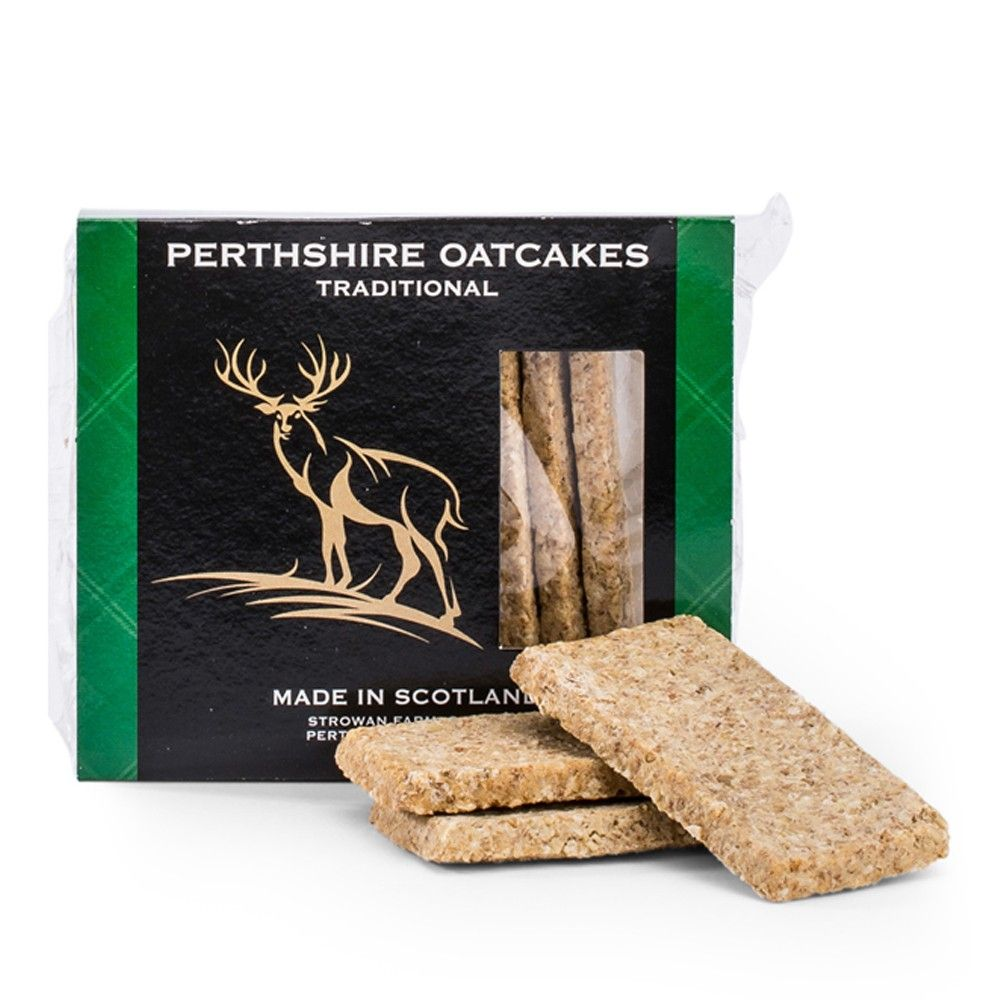 Perthshire Traditional Oatcakes Savoury Biscuits/Oat