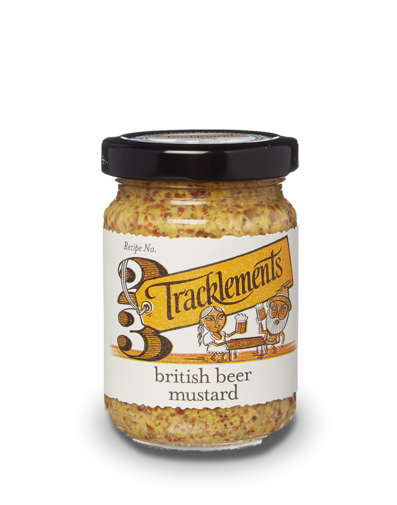 Tracklements Beer Mustard