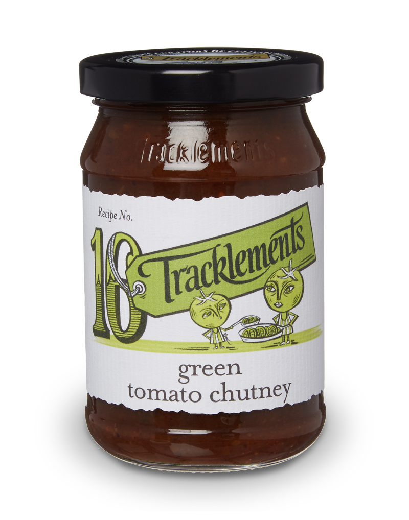 Tracklements Green Tomato Chutney Chutneys & Relishes