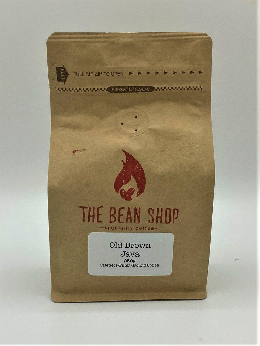 Bean Shop Old Brown Java Coffee
