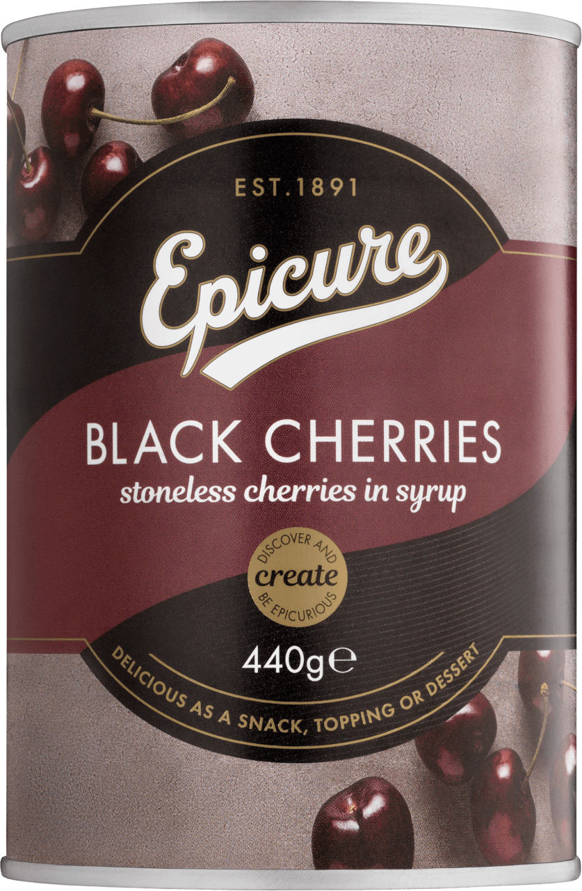 Epicure Black Cherries Preserved Fruits