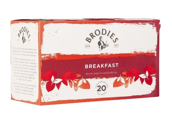 Brodies Breakfast Tea Bags