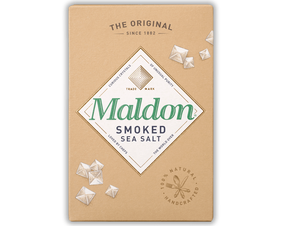 Maldon Smoked Salt Salt & Pepper