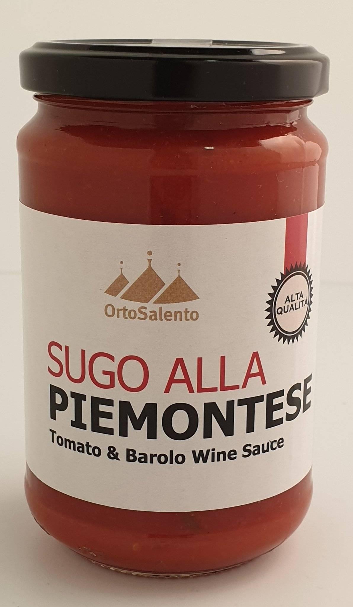 OrtoSalento Red Wine Pasta Sauce