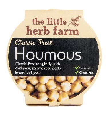 Little Herb Fresh Houmous Antipasti & Olives