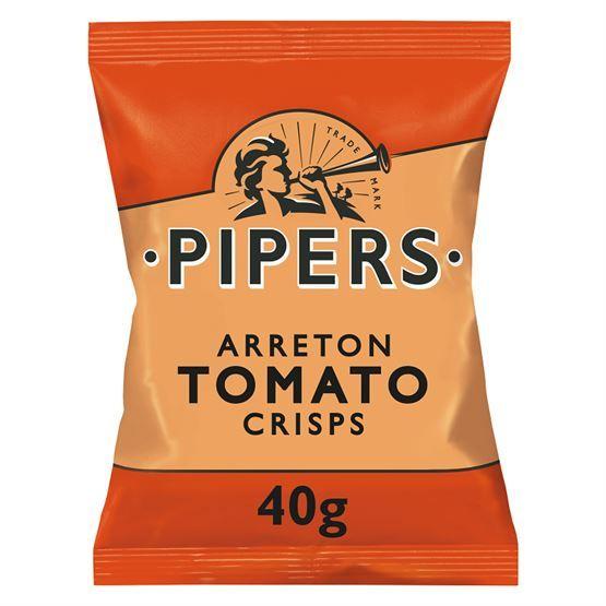 Pipers tomato Crisps
