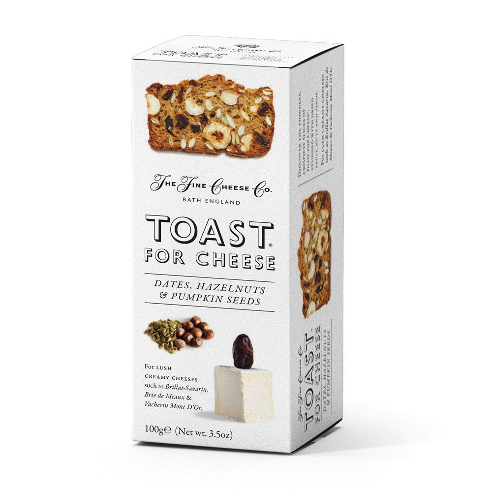 FCC Date, Hazelnut Pumpkin Toasts Savoury Biscuits/Oat
