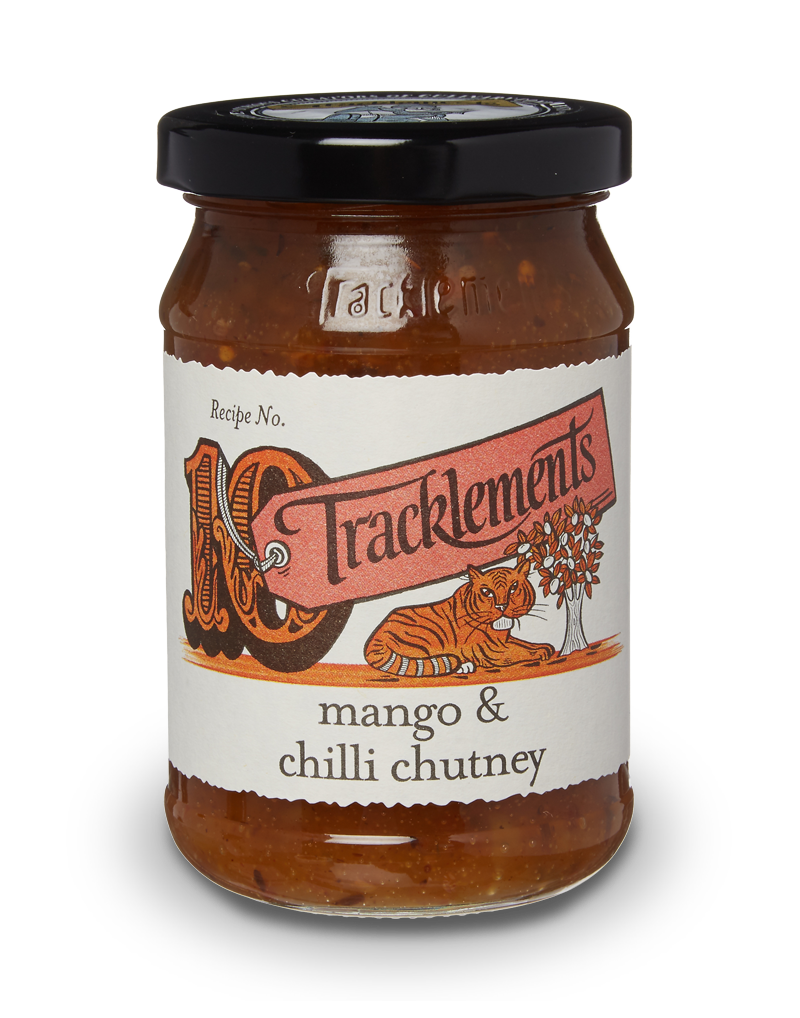 Tracklements Hot Mango Chutney Chutneys & Relishes
