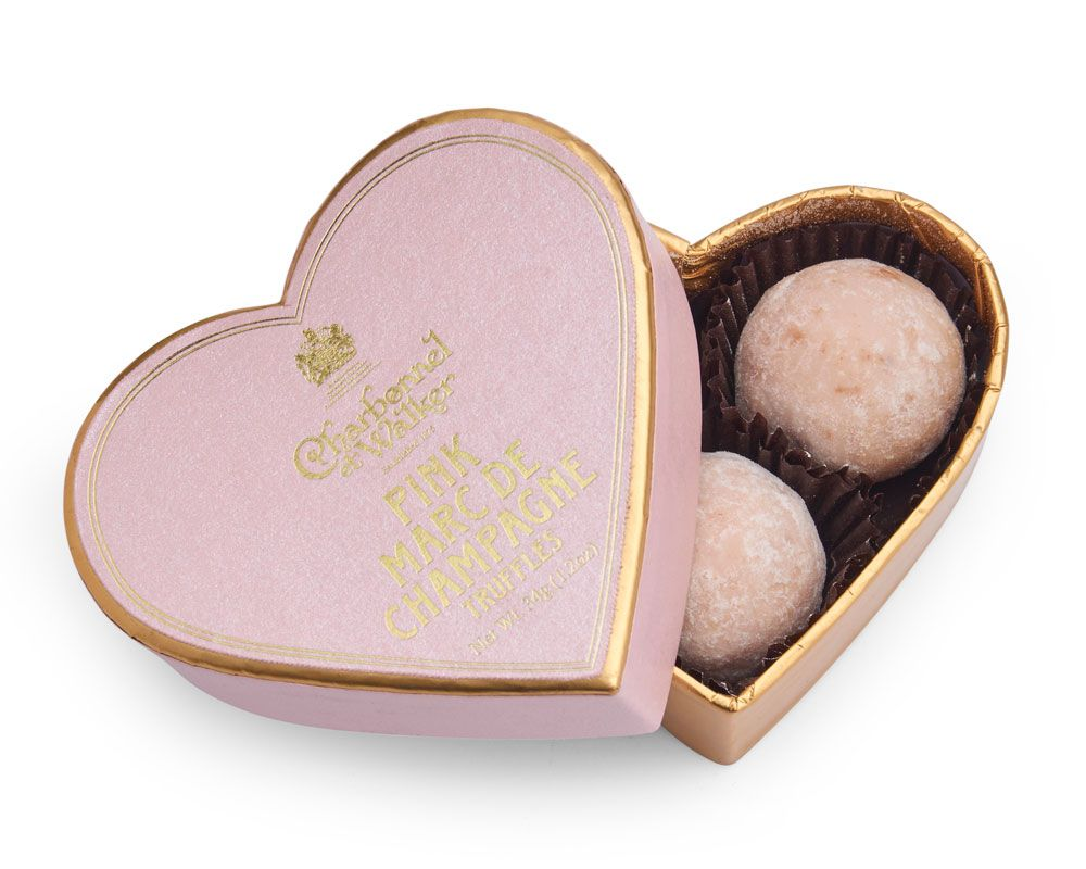 Charbonnel et Walker Pink Heart Box