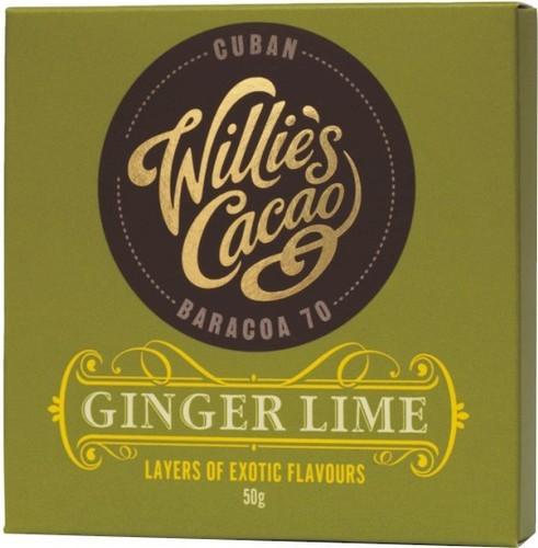Willie's Sierra Leone Ginger & Lime Chocolate Bars