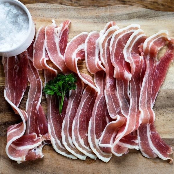 Puddledub Unsmoked Streaky Bacon Breakfast Goods