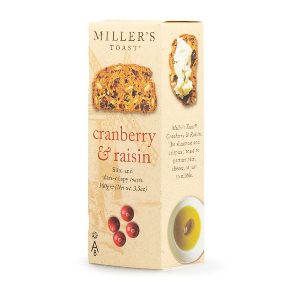 Miller's Cranberry & Raisin Toasts