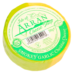 Arran Smoked Garlic Cheese