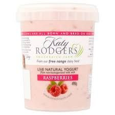 Katy Rodgers Raspberry Yoghurt