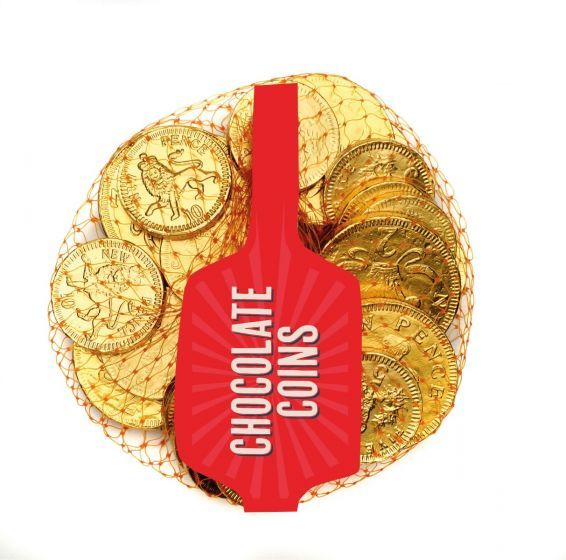 Net Milk Chocolate Coins