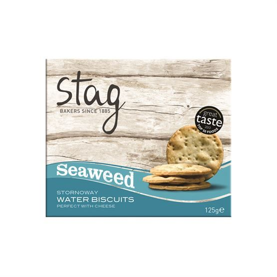 Stag Seaweed Cocktail Water Biscuits