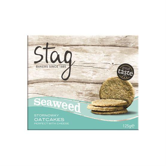 Stag Bakery Seaweed Oatcakes
