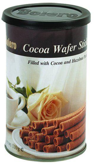 Bolero Cocoa Wafer Sticks