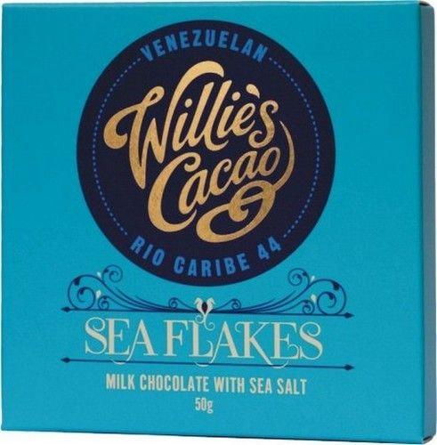 Willie's Sea Flakes Milk Chocolate
