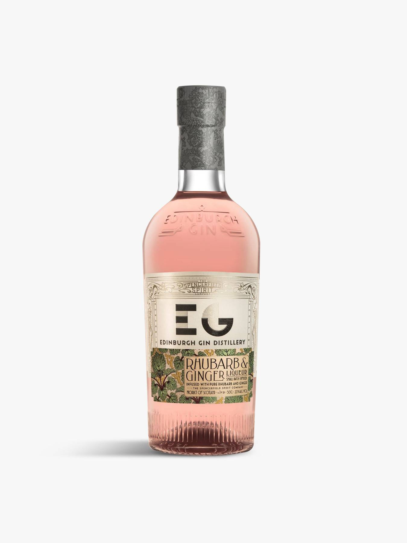 Edinburgh Rhubarb & Ginger Gin Gins & Gin Liqueurs