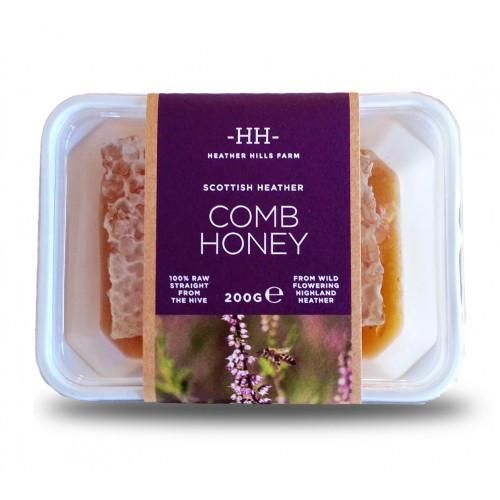 Heather Hills Cut Comb Heather Honey