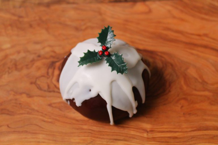 Gigha Christmas Pudding Cheese Hard