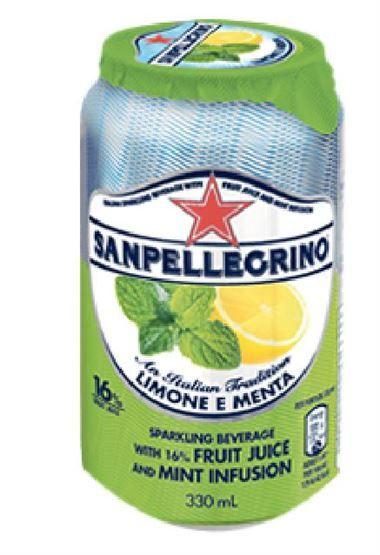 S. Pellegrino Lemon & Mint