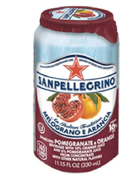S. Pellegrino Pomegranate & Orange