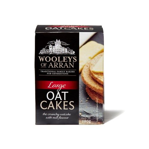 Wooleys Oatcakes Original Savoury Biscuits/Oat
